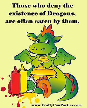 Deny Dragons Often Eaten Meme
