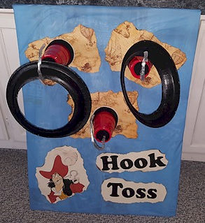 Disney Captain Hook Toss