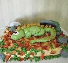 Dragon Cake Fondant