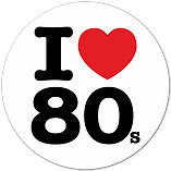 FREE I Love the 80s SVG and PNG Files