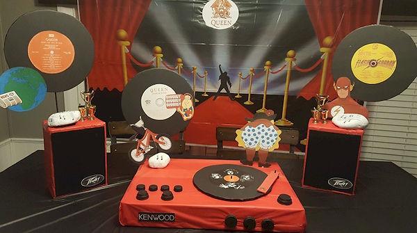 Queen Freddie Mercury Themed Party