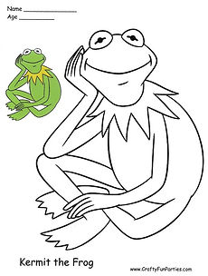 Color Kermit The Frog