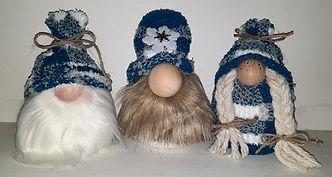 Blue Winter Gnomes