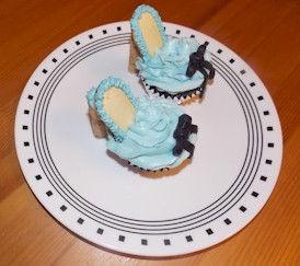 Princess Shoe Cupcakes
