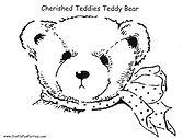 Cherished Teddies Pumpkin Pattern