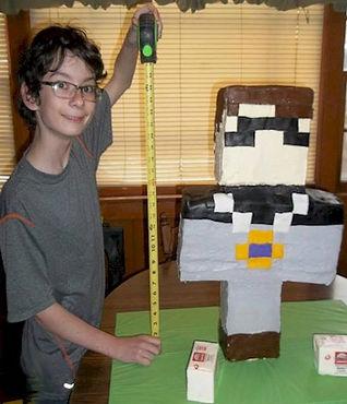Minecraft Large Cake
