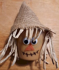 Scarecrow Pudding Cup