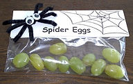 Spider Egg Halloween Treat
