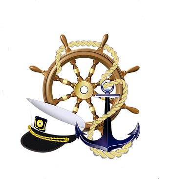 Anchor Ship Wheel Hat Clipart png