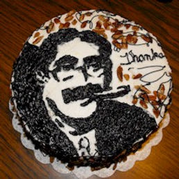 Groucho Marx Cake