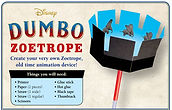 Dumbo Zoetrope Printable Craft