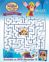 Tangled Queen For A Day Maze