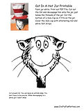 Cat In The Hat Jar Instructions