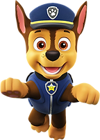 Paw Patrol Chase Clipart 2 png