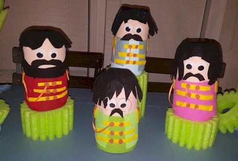 Beatles Sgt Peppers Band Pop Bottle Craft