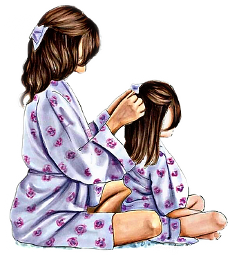 Mother Daughter Clipart png