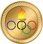Olympic Gold Medal Clipart