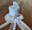 Top Hat Shabby Chic Ornament