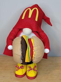 McDonalds Cheeseburger Gnome