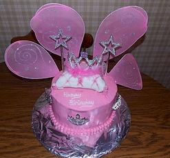 Fairy Wings Princess Cake