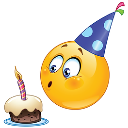 Birthday Candle Emoji Clipart