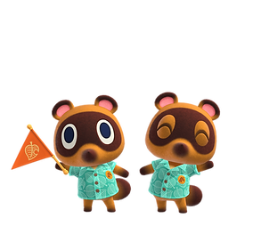 Timmy and Tommy Animal Crossing New Horizons Clipart