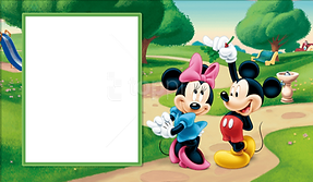 Mickey Mouse Picture Frame 1