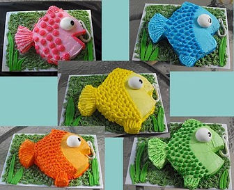 Fish Themed Cakes