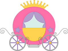 Princess Carriage Free SVG and PNG Files