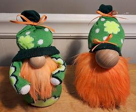 St Patricks Gnomes Shamrocks