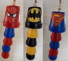 Superhero Wind Chimes