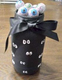 Eyeball Candy Jar