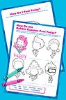Bubble Guppies Feelings Activities