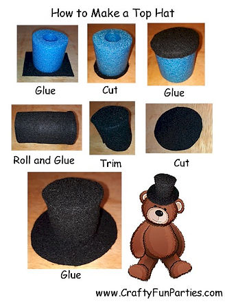 How To Make a Pool Noodle Top Hat