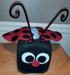 Lady Bug Valentines Holder