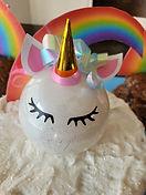 Unicorn Ornament Cake Topper