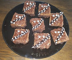 Chewy Chewbacca Brownies