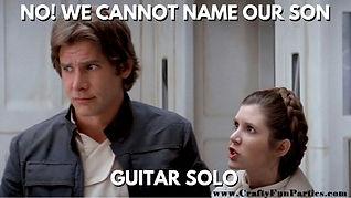 Guitar Solo Star Wars Meme