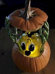 Monster In a Pumpkin