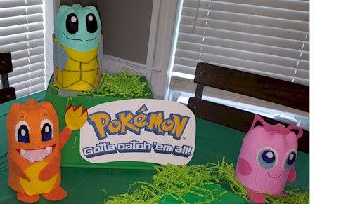 Pokemon Squirtle Charmander Jigglypuff Pop Bottle Crafts