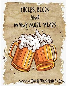 Cheers Beers Years Birthday Meme