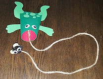 Toilet Paper Frog Game