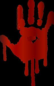 Bloody Handprint Clipart
