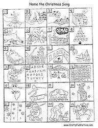 Name The Christmas Song Printable