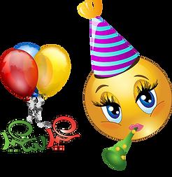 Party Emoji Clipart