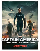 Captain America Winter Soldier Activity Pages