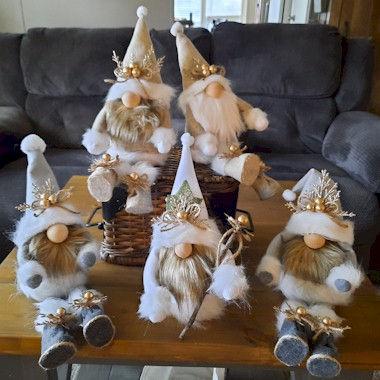 Gold Gnomes No Sew