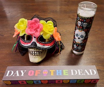 Day Of the Dead Dollar Store Finds