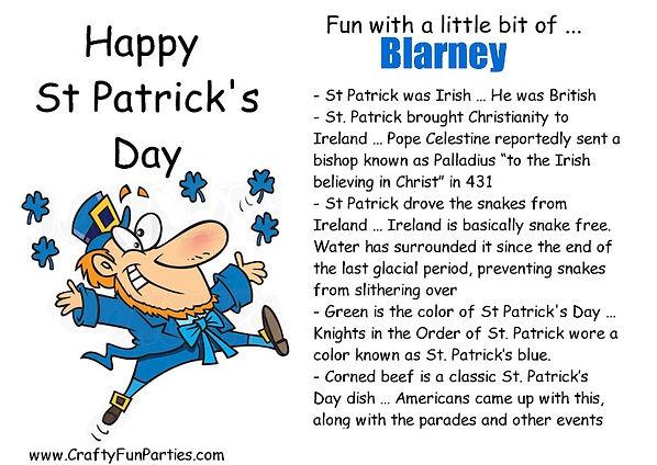 St Patricks Blarney