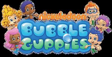 Bubble Guppies Logo png